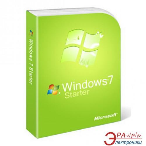 Операционная система Microsoft Windows 7 SP1 Starter 32-bit Ukrainian 1pk DVD (GJC-00582) BOX