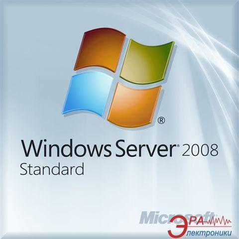Операционная система Microsoft Windows Server Standart 2008 R2 w/SP1 x64 Eng OEM DVD (P73-04849) OEM