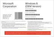 ������������ ������� Microsoft Windows 8 64-bit Ukrainian 1pk DVD (WN7-00428) OEM