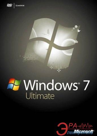 Операционная система Microsoft Windows 7 Ultimate 32/64 bit English BOX (GLC-00179) BOX
