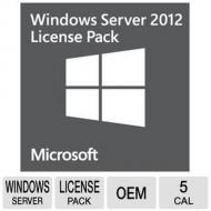 Операционная система Microsoft Windows Server CAL 2012 5Clt User CAL (R18-03755)