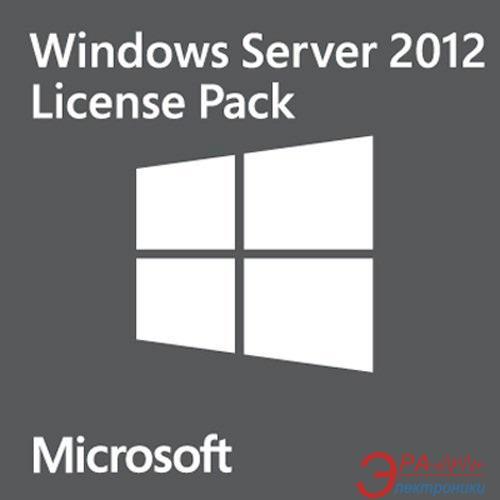 Операционная система Microsoft Windows Server CAL 2012 1 Clt User CAL (R18-03737)