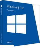 Операционная система Microsoft Windows 8.1 Professional 32/64-bit Ukrainian DVD (FQC-07359) BOX