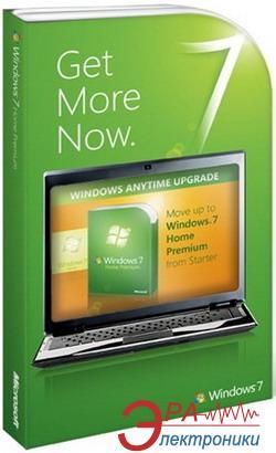 Операционная система Microsoft WAU Windows 7 Starter to Home Premium (4WC-00027) BOX