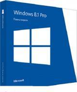 Операционная система Microsoft Win Pro 8.1 x32 Rus 1pk (FQC-06968) OEM