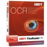 Распознавание текста ABBYY FINEREADER 11.0 Professional Edition