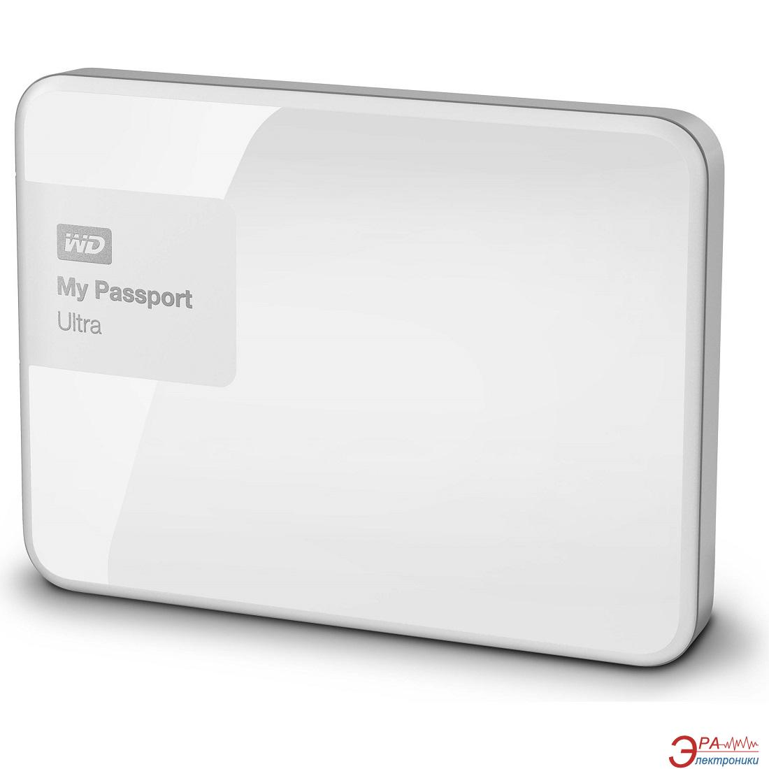 Внешний винчестер 3TB WD My Passport Ultra (WDBBKD0030BWT-EESN)