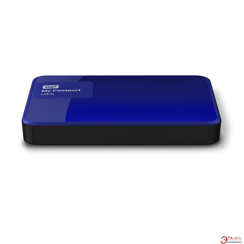 Внешний винчестер 1TB WD My Passport Ultra Noble Blue (WDBGPU0010BBL-EESN)
