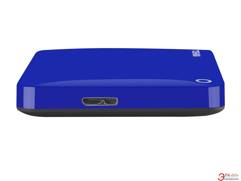 Внешний винчестер 1TB Toshiba Canvio Connect II Blue (HDTC810EL3AA)