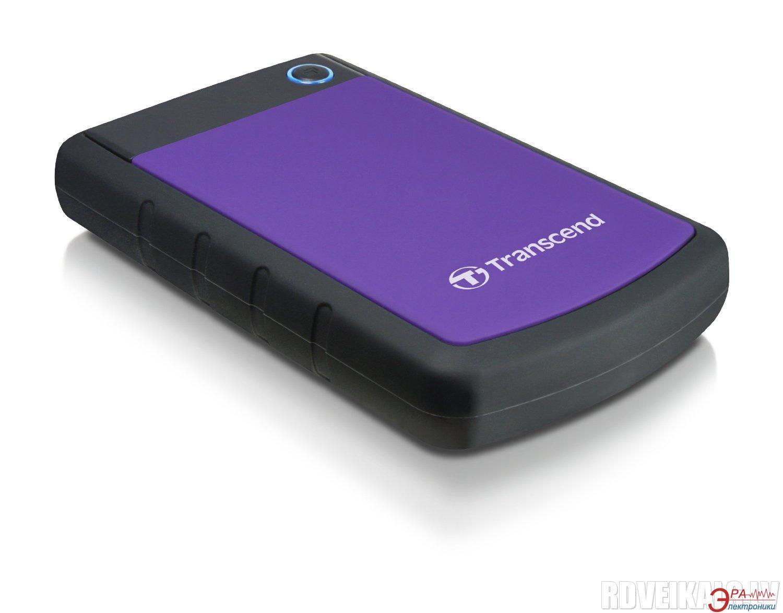 Внешний винчестер 3TB Transcend StoreJet 2.5 USB 3.0 H Purple (TS3TSJ25H3P)