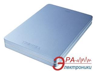 Внешний винчестер 500GB Toshiba Canvio Alu Metallic Blue (HDTH305EL3AA)