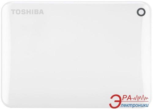 Внешний винчестер 500GB Toshiba Canvio Connect II White (HDTC805EW3AA)