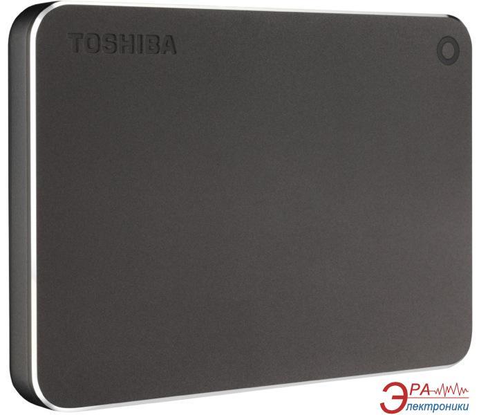 Внешний винчестер 3TB Toshiba Canvio Premium Dark grey (HDTW130EB3CA)