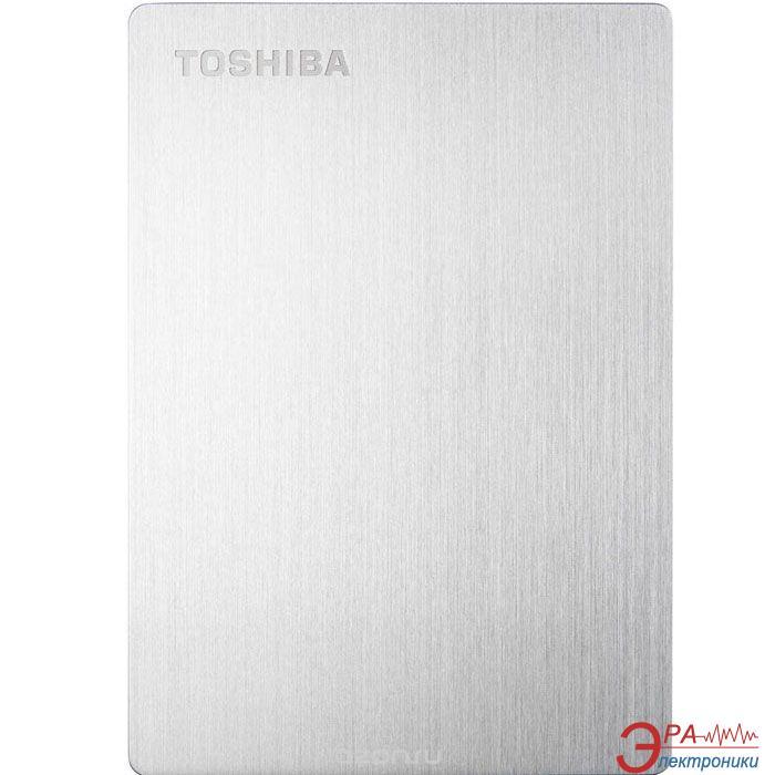 Внешний винчестер 500GB Toshiba Canvio Slim for Mac Silver (HDTD205ESMDA)