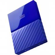 Внешний винчестер 1TB WD My Passport Blue (WDBYNN0010BBL-WESN)