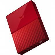 Внешний винчестер 2TB WD My Passport Red (WDBYFT0020BRD-WESN)