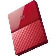 Внешний винчестер 1TB WD My Passport Red (WDBYNN0010BRD-WESN)