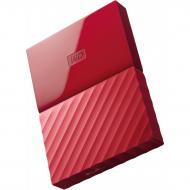 Внешний винчестер 1TB WD My Passport Red (WDBYNN0010BRD-WESN)