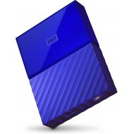 Внешний винчестер 3TB WD My Passport Blue (WDBYFT0030BBL-WESN)