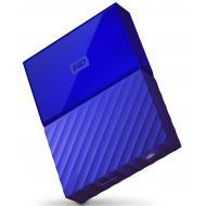 Внешний винчестер 4TB WD My Passport Blue (WDBYFT0040BBL-WESN)
