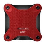 Внешний SSD накопитель 256GB A-Data SD600 Red (ASD600-256GU31-CRD)