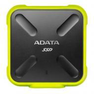 Внешний SSD накопитель 512GB A-Data SD700 Yellow (ASD700-512GU3-CYL)