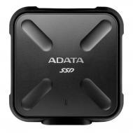 Внешний SSD накопитель 512GB A-Data SD700 Black (ASD700-512GU3-CBK)