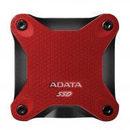 Внешний SSD накопитель 512GB A-Data SD600 Red (ASD600-512GU31-CRD)