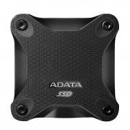 Внешний SSD накопитель 512GB A-Data SD600 Black (ASD600-512GU31-CBK)