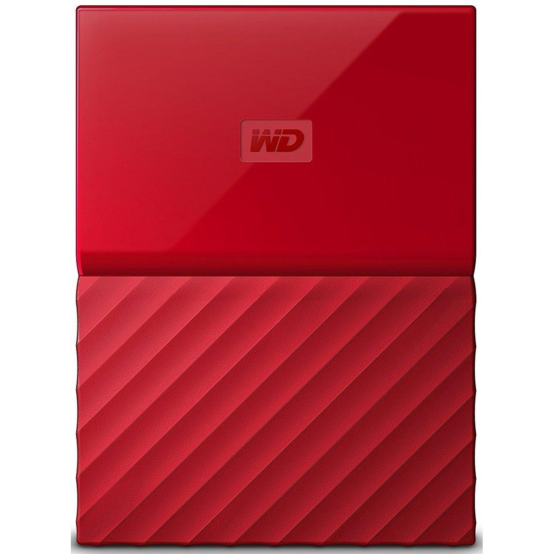 Внешний винчестер 2TB WD My Passport Red (WDBS4B0020BRD-WESN)