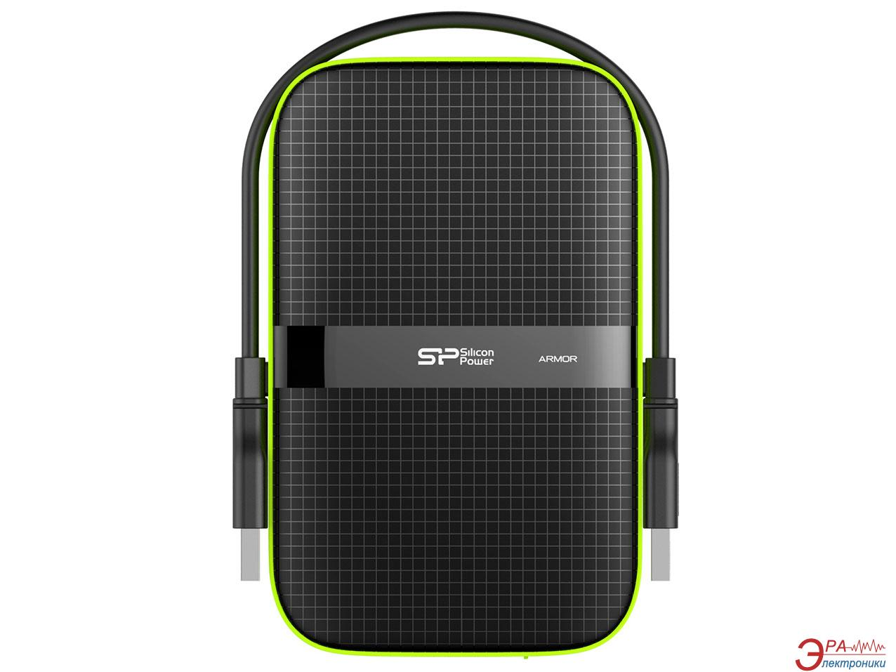 Внешний винчестер 500GB Silicon Power Armor A60 (SP500GBPHDA60S3K)