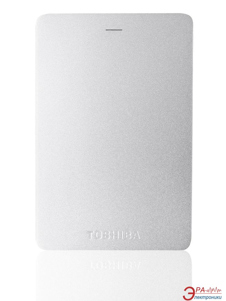 Внешний винчестер 1TB Toshiba Canvio Alu (HDTH310ES3AA)