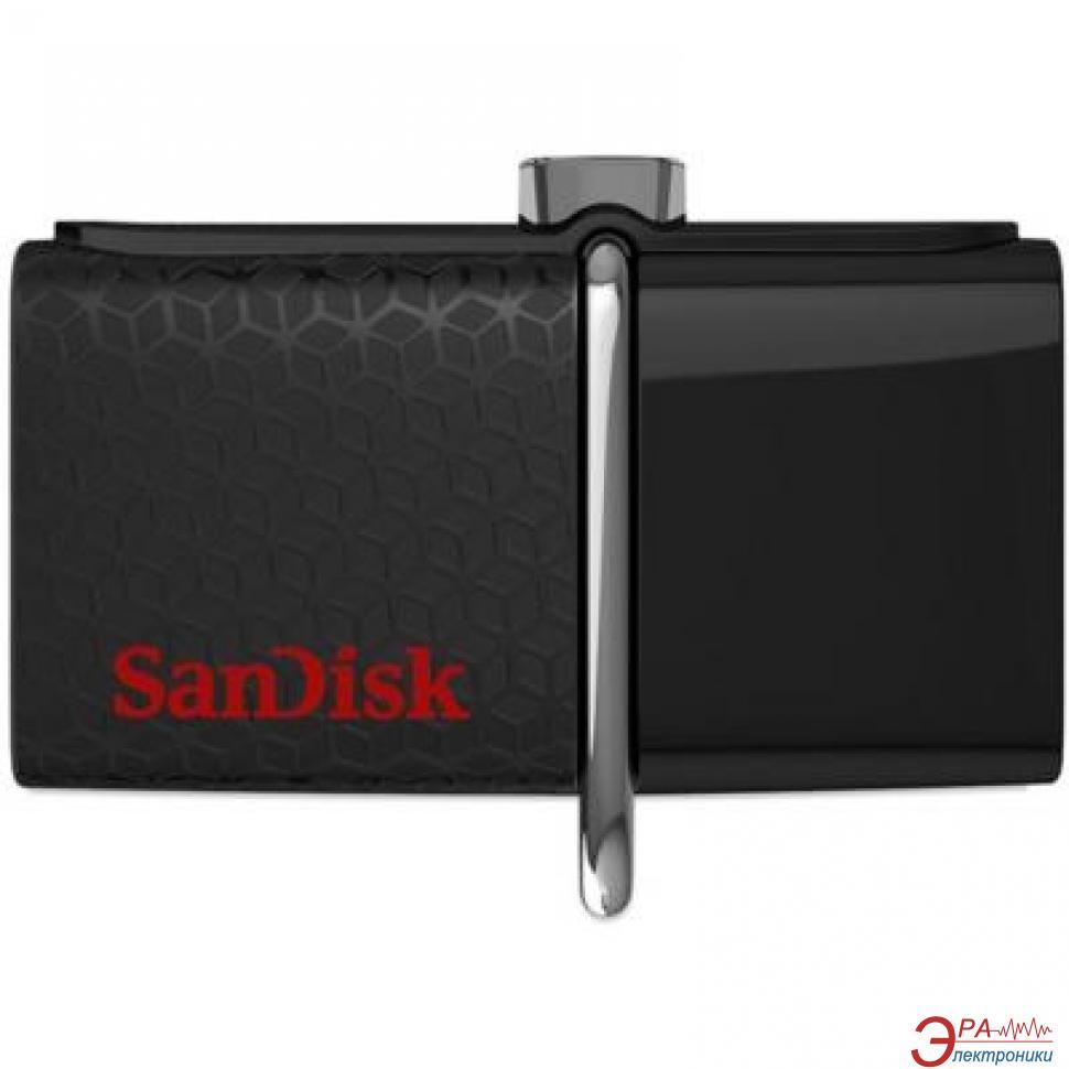 Флеш память USB 3.0/microUSB SanDisk 16 Гб Ultra Dual (SDDD2-016G-G46)