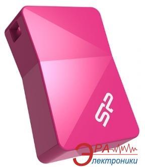 Флеш память USB 2.0 Silicon Power 8 Гб Touch T08 Peach (SP008GBUF2T08V1H)