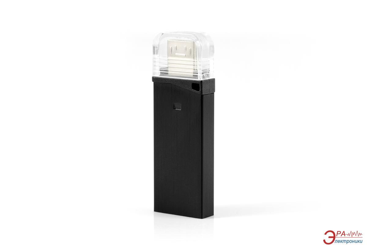 Флеш память USB 3.0 Goodram 16 Гб Twin Black (PD16GH3GRTNKR9)