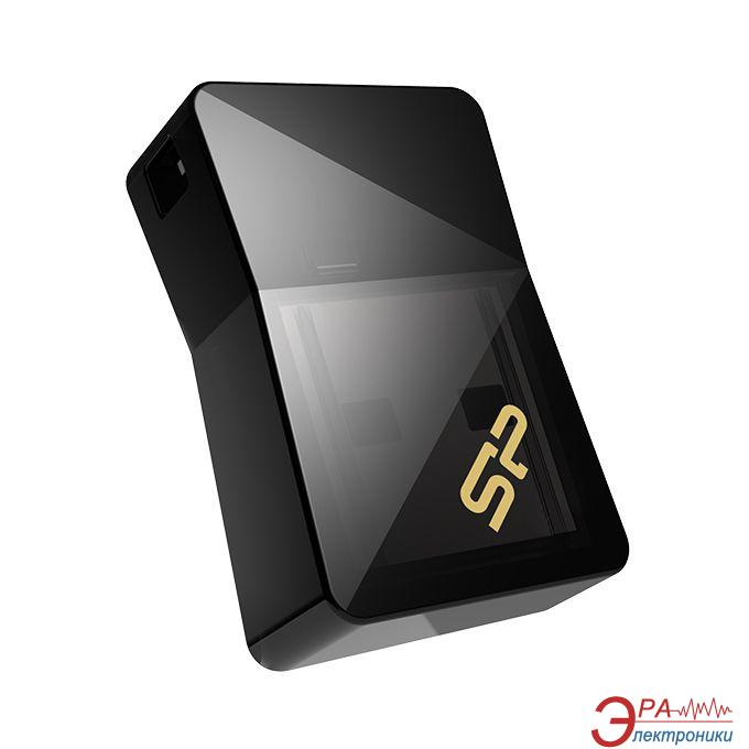 Флеш память USB 3.0 Silicon Power 32 Гб Power Jewel J08 Black (SP032GBUF3J08V1K)