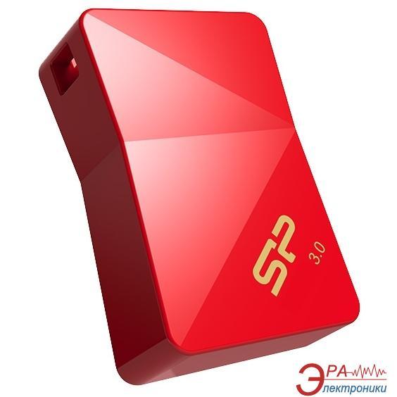 Флеш память USB 3.0 Silicon Power 32 Гб Jewel J08 Red (SP032GBUF3J08V1R)