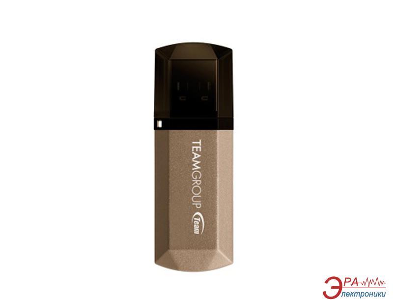 Флеш память USB 3.0 Team 64 Гб C155 Golden (TC155364GD01)