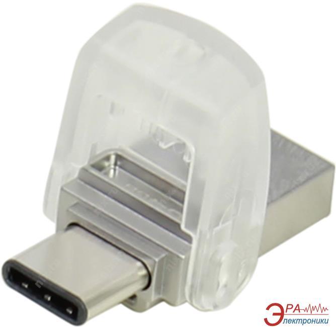 Флеш память USB 3.1 Kingston 64 Гб DataTraveler microDuo 3C (DTDUO3C/64GB)