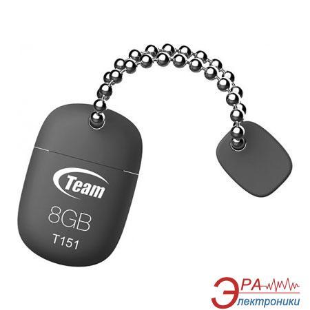 Флеш память USB 2.0 Team 8 Гб T151 Grey (TT1518GC01)