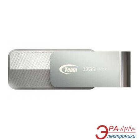 Флеш память USB 3.0 Team 32 Гб C143 White (TC143332GW01)