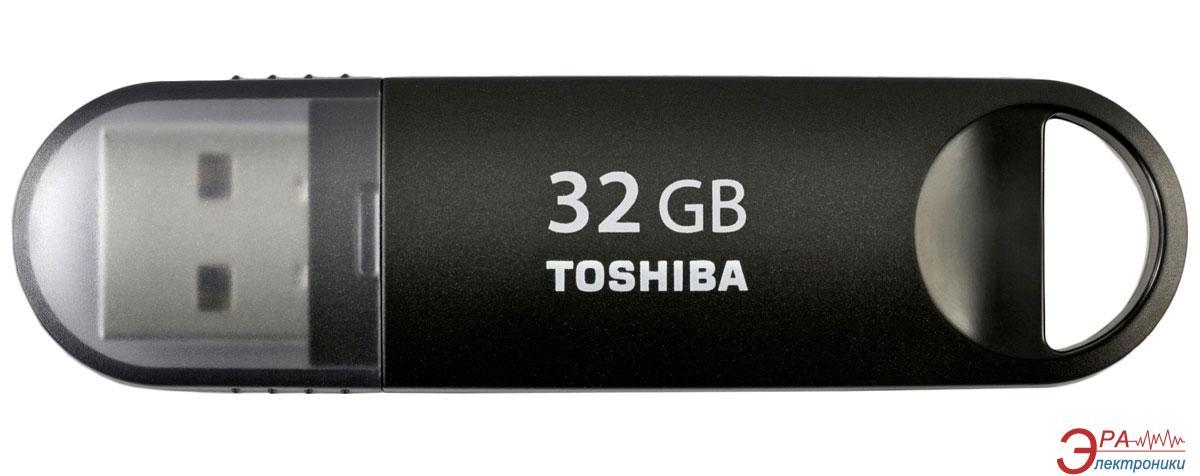 Флеш память USB 3.0 Toshiba 32 Гб Suzaku Black (THN-U361K0320M4)