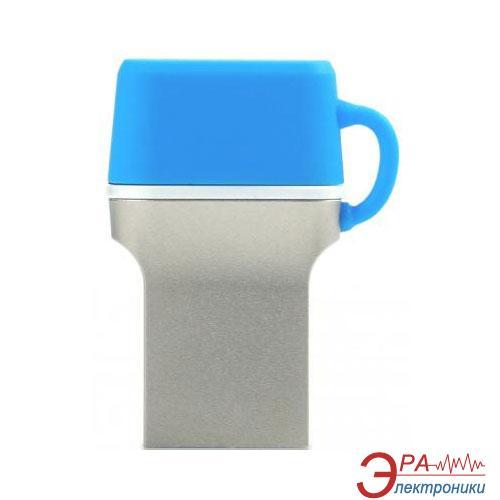 Флеш память USB 3.0 Goodram 32 Гб DualDrive C Blue (PD32GH3GRDDCBR10)