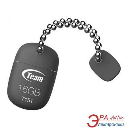 Флеш память USB 2.0 Team 16 Гб T151 Grey (TT15116GC01)