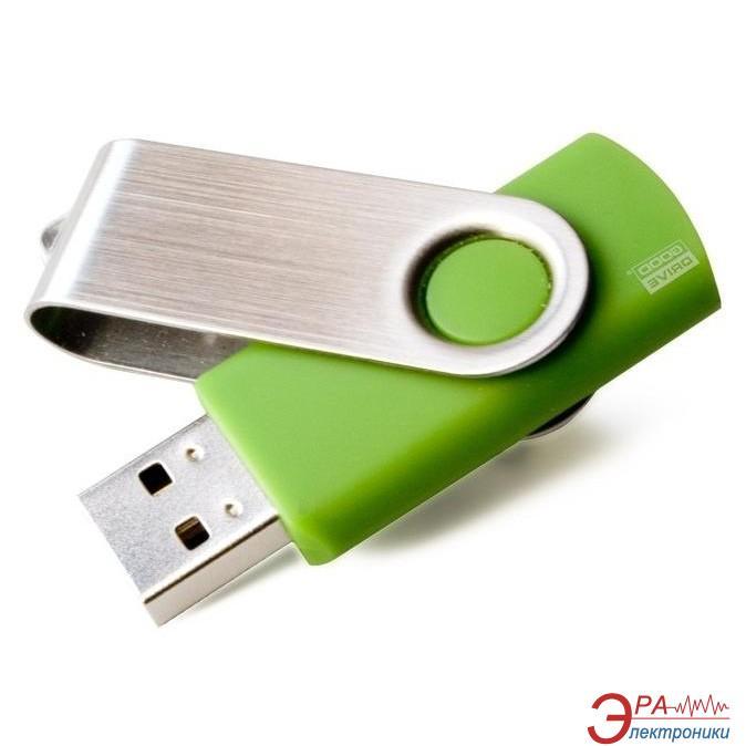 Флеш память USB 2.0 Goodram 8 Гб Twister bulk Green (PD8GH2GRTSBG)