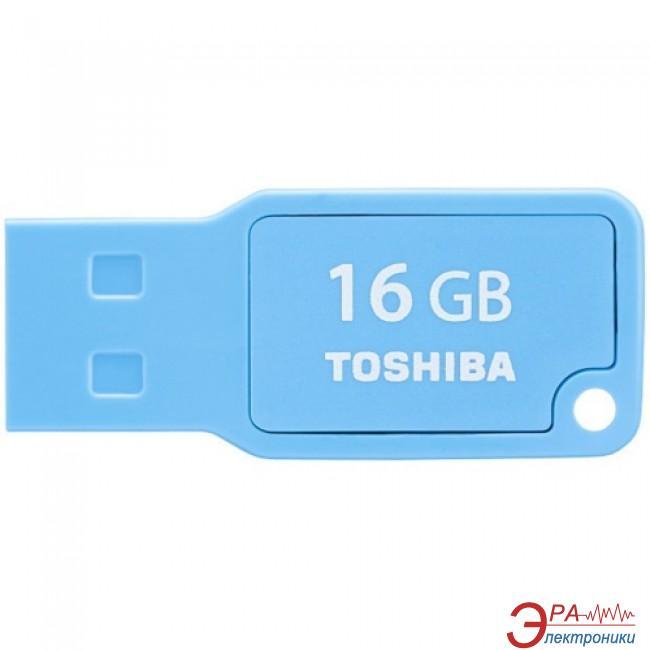 Флеш память USB 2.0 Toshiba 16 Гб Mikawa Cyan (THN-U201C0160M4)