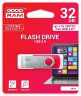 Флеш память USB 3.0 Goodram 32 Гб UTS3 (Twister) Red (UTS3-0320R0R11)