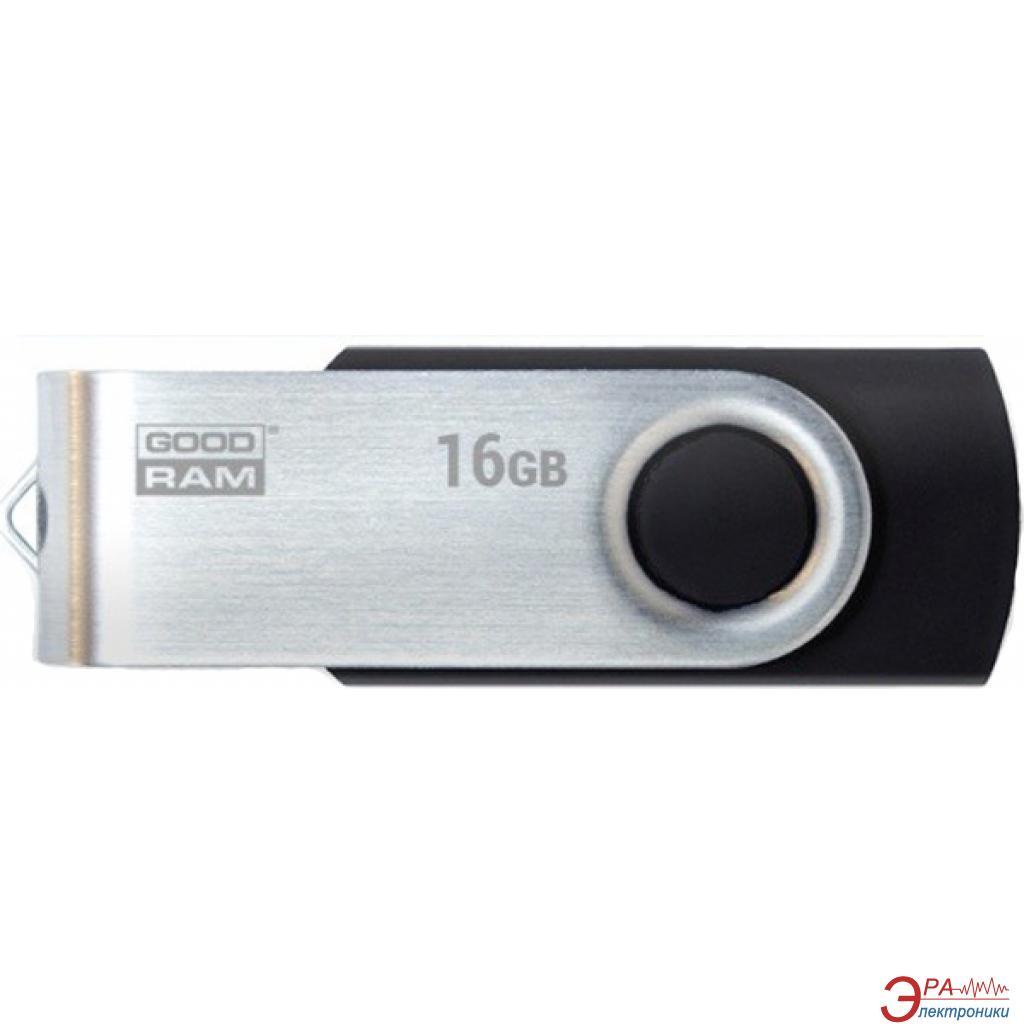 Флеш память USB 3.0 Goodram 16 Гб UTS3 (Twister) Black (UTS3-0160K0R11)