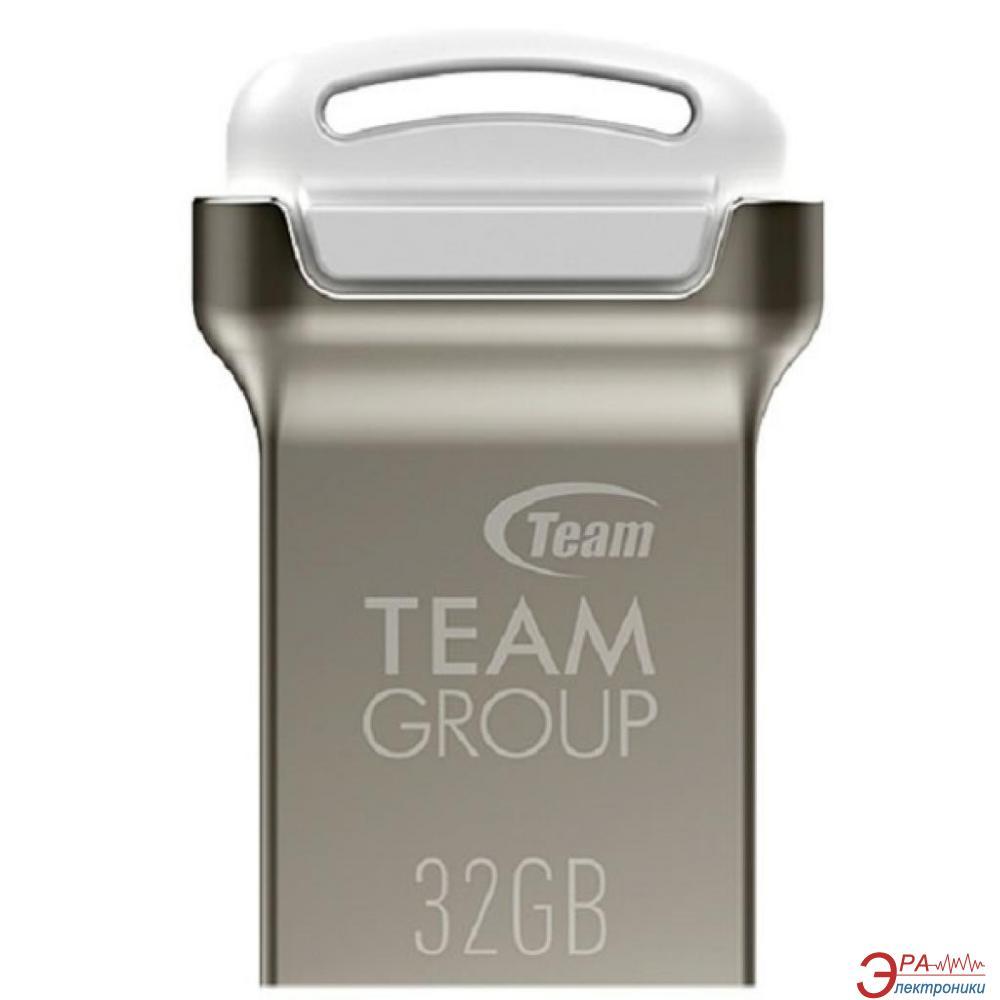 Флеш память USB 2.0 Team 32 Гб C161 White (TC16132GW01)
