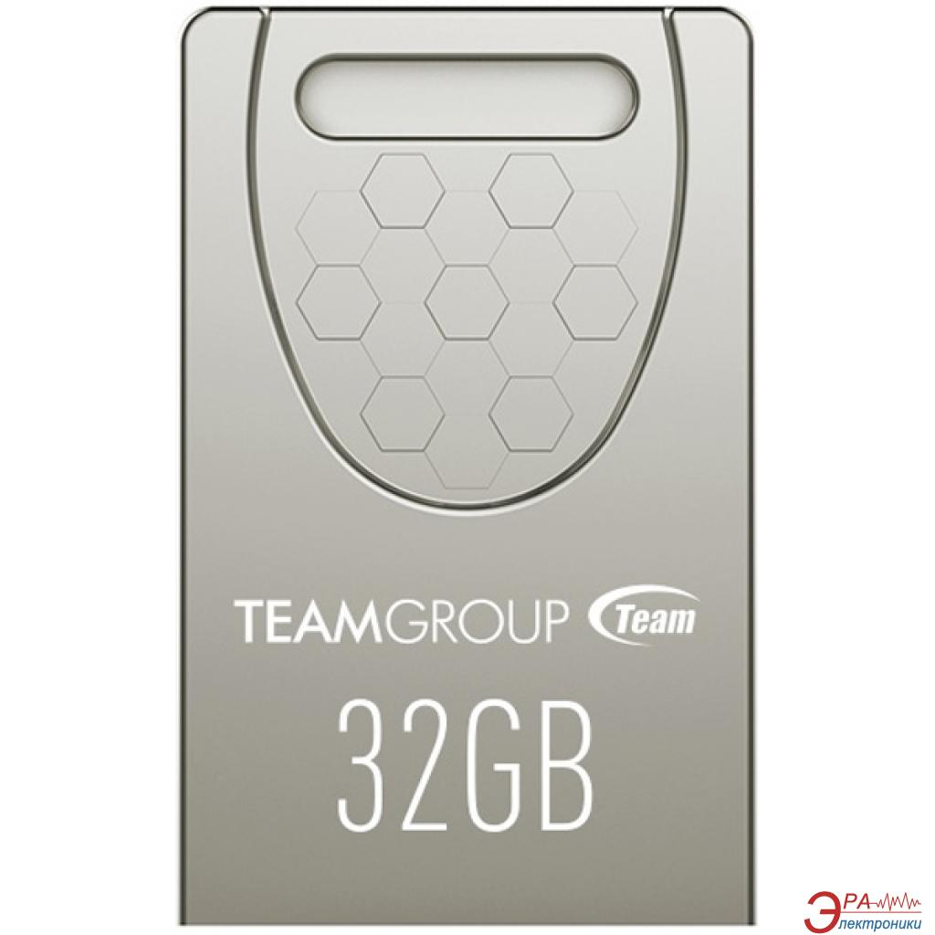 Флеш память USB 2.0 Team 32 Гб C156 Silver (TC15632GS01)
